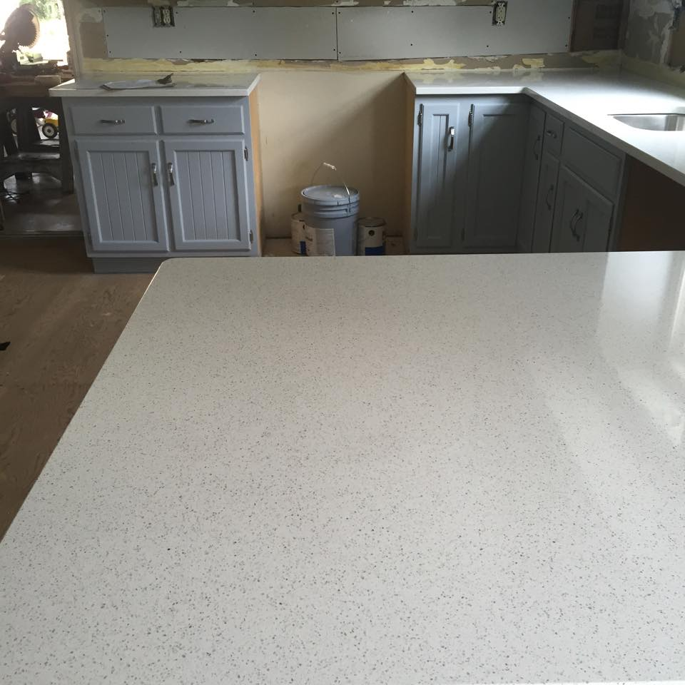 Snowdon White Cambria Installation Gallery - Granite Works of PA