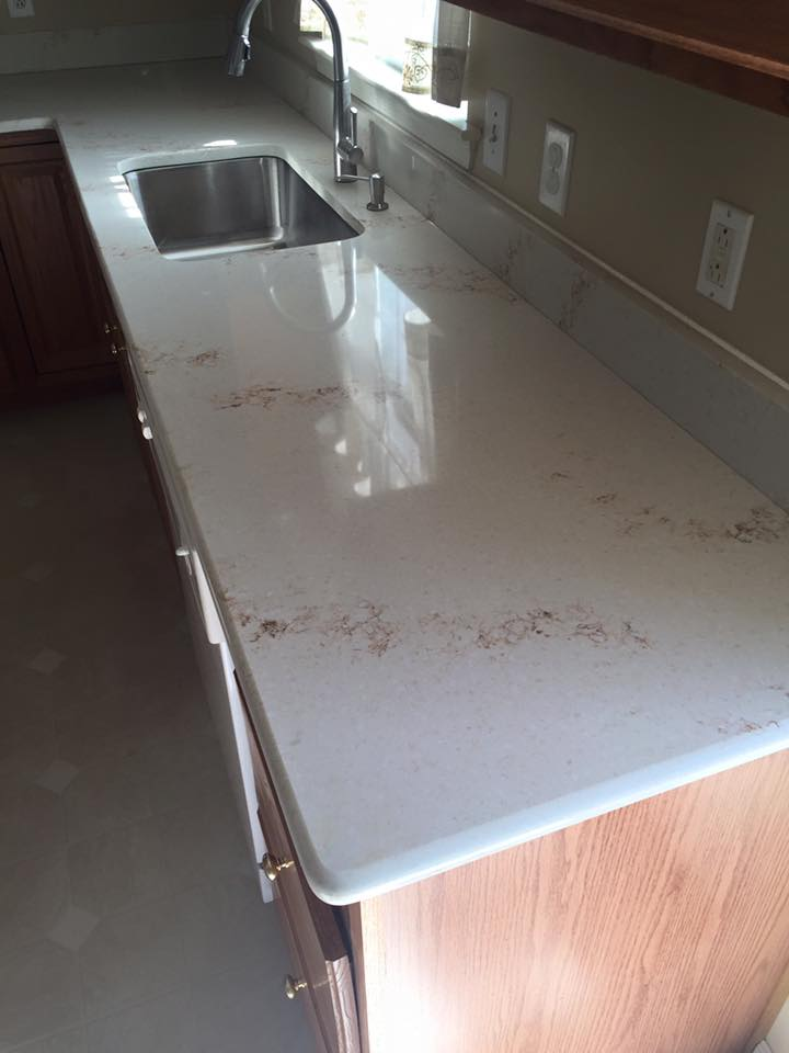 Hanstone Quartz Serenity Installation Gallery Granite
