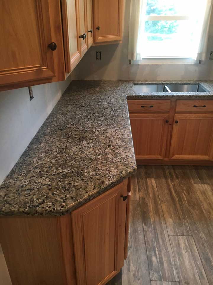 Beige Butterfly Installation Gallery Granite Works Of Pa