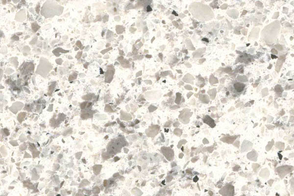Peppercorn White Q-Quartz